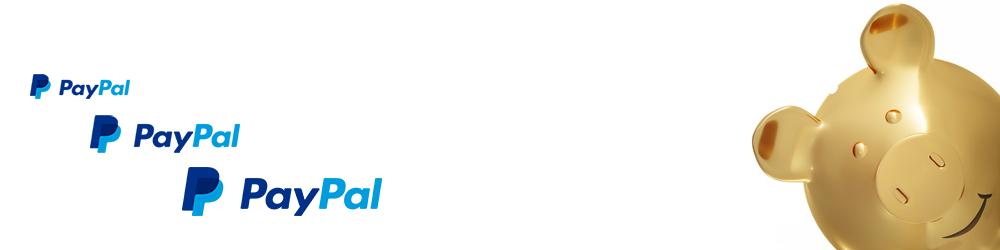 PayPal - Payment - PayPal logo - piggy bank